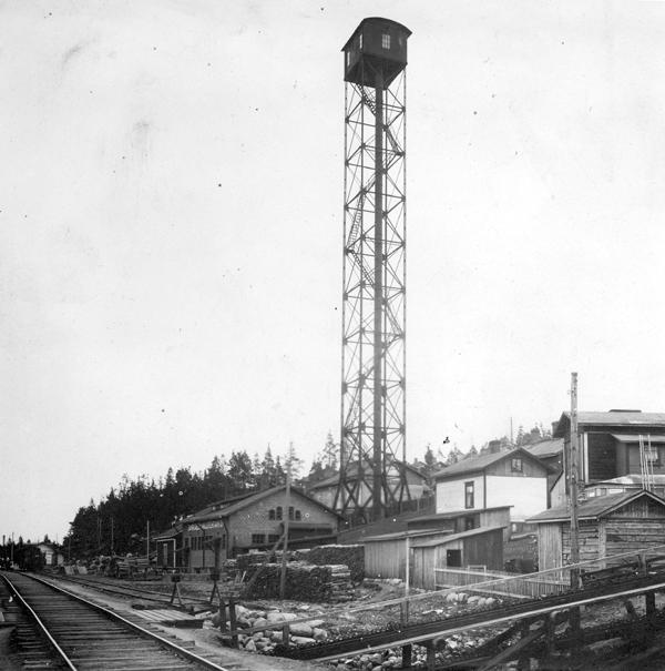 Pispalan torni 600 Hjorthin kirjasta